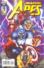 Marvel Apes #1 (2008) Marvel comic book